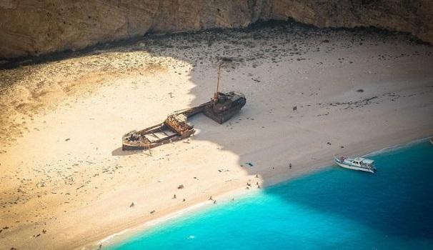 """Η ιστορία του πλοίου """"Παναγιώτης"""" στο Ναυάγιο της Ζακύνθου"""