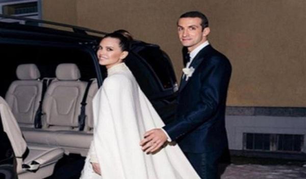 Σταύρος Νιάρχος – Ντάσα Ζούκοβα: Η πρώτη φωτογραφία του λαμπερού γάμου στο St Moritz