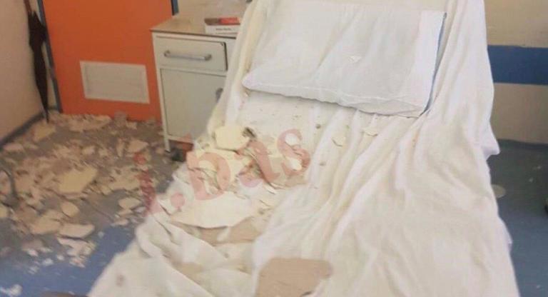 Κατέρρευσε το ταβάνι στο νοσοκομείο Νίκαιας! Τραυματίστηκε μητέρα νοσηλευόμενου