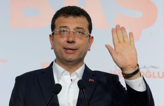 Χαστούκι στον Ερντογάν η νίκη Ιμάμογλου: Συγκεντρώνει το 53,6% των ψήφων