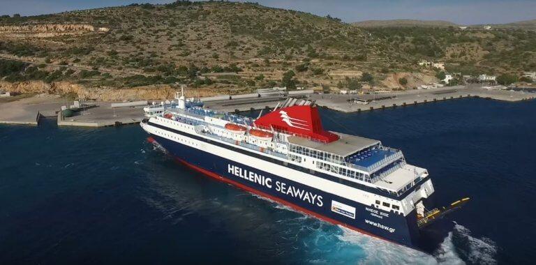 Μανούβρες του πλοίου Νήσος Χίος που κόβουν την ανάσα