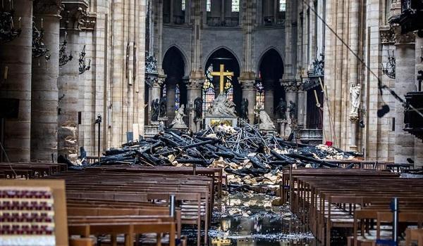 Στο 1 δισ. οι δωρεές για την αποκατάσταση της Παναγίας των Παρισίων