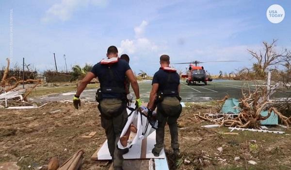 Στις Μπαχάμες αγνοούνται 2.500 άνθρωποι μετά το πέρασμα του κυκλώνα Ντόριαν