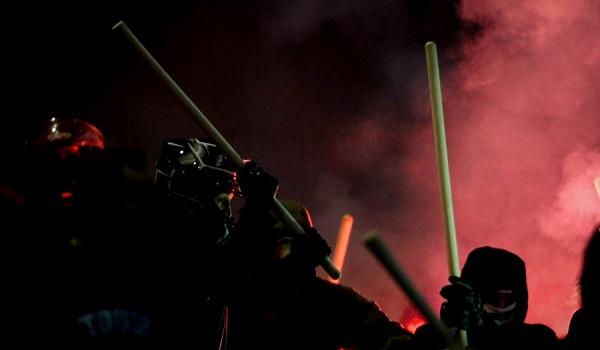Βίντεο από τις συμπλοκές μεταξύ οπαδών του Παναιτωλικού και του ΠΑΟΚ