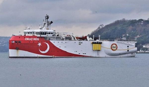 Αγριεύουν οι Τούρκοι: Βγάζουν το Oruc Reis στο σημείο ένωσης των ΑΟΖ Ελλάδας, Κύπρου και Αιγύπτου