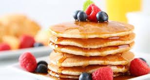 Pancakes ολικής με φρούτα