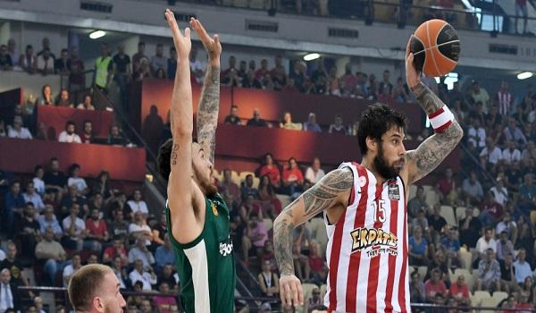 Ο Ολυμπιακός νίκησε τον  Παναθηναϊκό με  92-76 στο ΣΕΦ και ισοφάρισε 2-2