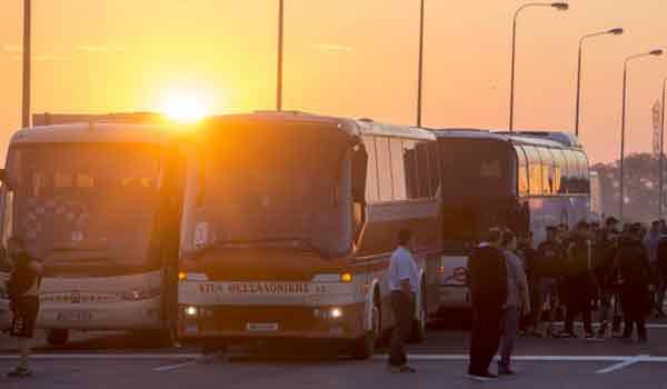 Τρελός Παοκτσής ξεκίνησε από τη Θεσσαλονίκη για το ΟΑΚΑ με μηχανάκι
