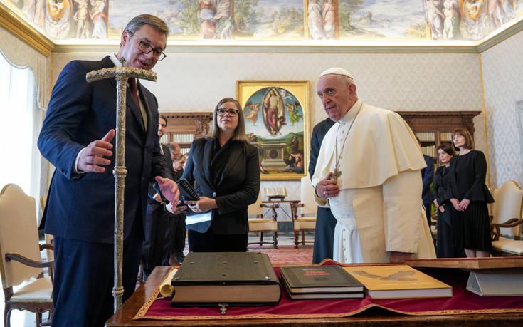 Πρόεδρος Σερβίας: Το Βατικανό δεν θα αναγνωρίσει το Κόσοβο