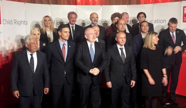 Κόντρα Τσίπρα - Γεννηματά στη Σύνοδο του Ευρωπαϊκού Σοσιαλιστικού κόμματος