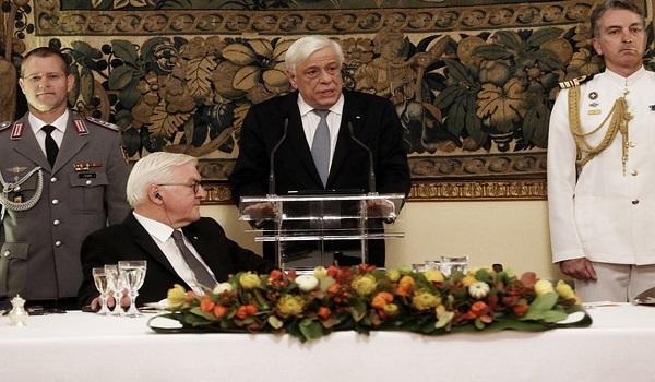 Παυλόπουλος σε Σταϊνμάιερ: Νομικώς ενεργές και δικαστικώς επιδιώξιμες οι Γερμανικές αποζημιώσεις