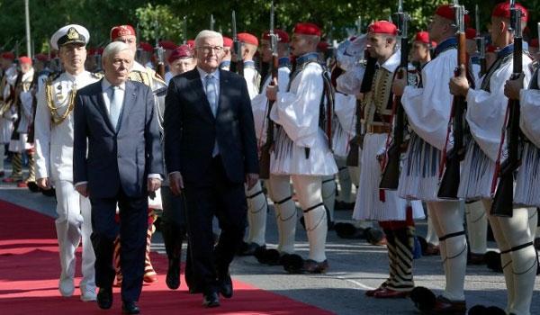 Μήνυμα Παυλόπουλου, παρουσία Στάινμαϊερ, σε Άγκυρα και Σκόπια
