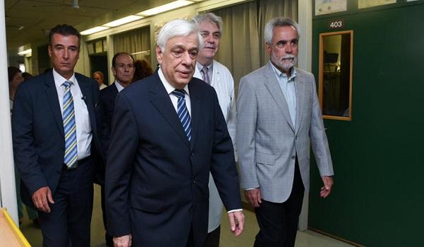 Προκόπης Παυλόπουλος:  Θα παραμείνει στο νοσοκομείο για εξετάσεις