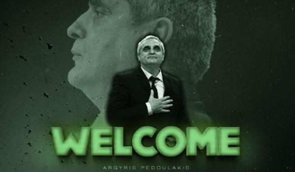 Ο Πεδουλάκης νέος προπονητής στον Παναθηναϊκό. Η ανακοίνωση