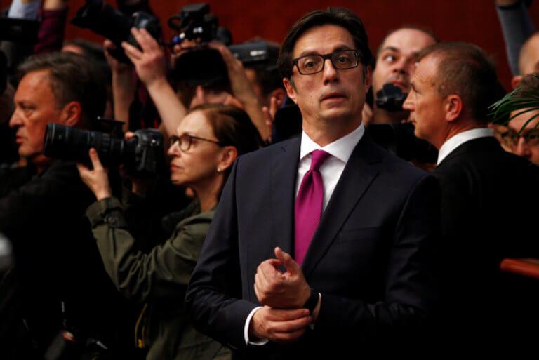 Ο Στέβο Πεντάροφσκι ορκίστηκε νέος πρόεδρος των Σκοπίων