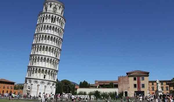 Μάθαμε για ποιό λόγο δεν πέφτει ο πύργος της Πίζας