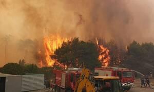 Φωτιά στη Ζάκυνθο: Εκκενώνεται και το χωριό Αγαλάς