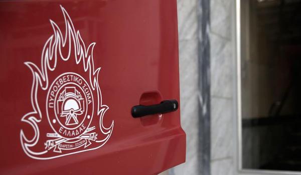Ναύπακτος: Φωτιά σε λεωφορείο με μαθητές στην Παλιοβούνα