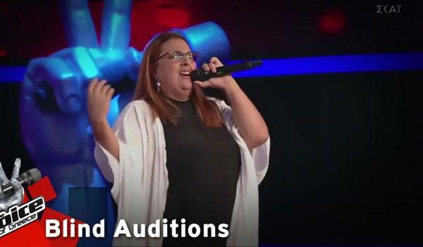 The Voice: Η διαγωνιζόμενη που κέρδισε τους κριτές και η γυμναστική στη σκηνή!