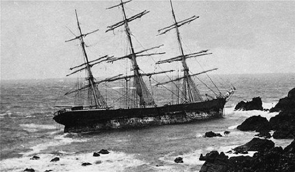 Πλοίο φάντασμα βγήκε στην επιφάνεια - Eίχε βυθιστεί πριν 120 χρόνια