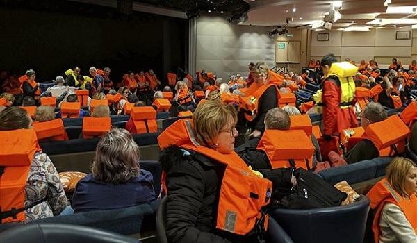 Νορβηγία: Μόλις 338 άνθρωποι έχουν απομακρυνθεί από το κρουαζιερόπλοιο
