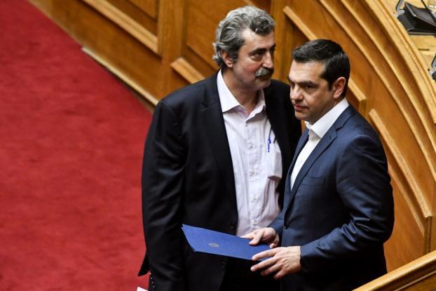 Μήνυμα σε Τσίπρα το άδειασμα κορυφαίων στελεχών του ΣΥΡΙΖΑ σε Πολάκη