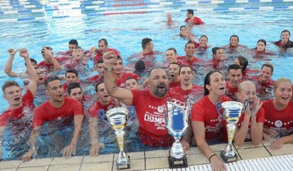 Τροπαιούχος για 60η φορά ο Ολυμπιακός στην κολύμβηση