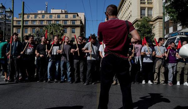 Πορεία φοιτητών στο κέντρο της Αθήνας - «Ασφυξία» στους δρόμους