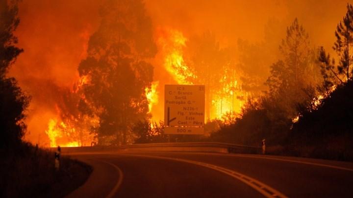 Τουλάχιστον 20 τραυματίες στην Πορτογαλία από μεγάλες πυρκαγιές