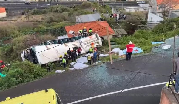 Πολύνεκρο δυστύχημα με λεωφορείο στην Πορτογαλία