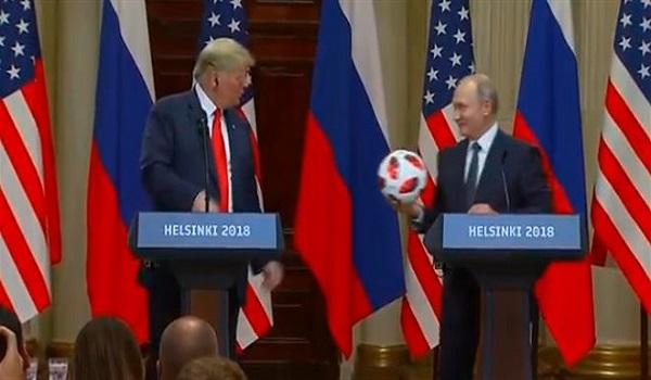 Τραμπ: Η σχέση μας έχει αλλάξει - Πούτιν: Η μπάλα στο γήπεδο σου