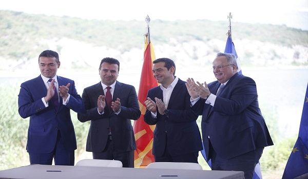 Ζάεφ: Τα δέκα σημεία υπέρ της Βόρειας Μακεδονίας  της συμφωνίας των Πρεσπών