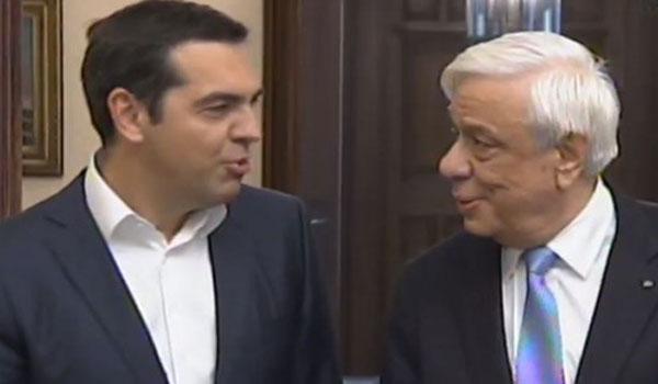 Το αστείο του Τσίπρα στο Προεδρικό: Το όνειρό μου έγινε πραγματικότητα, πήρα υπουργείο