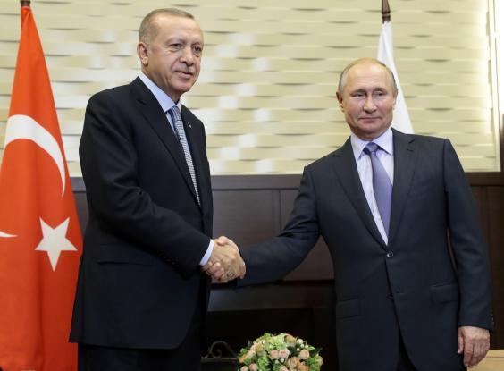 «Ιστορική συμφωνία» Πούτιν - Ερντογάν με μεγάλους χαμένους τους Κούρδους