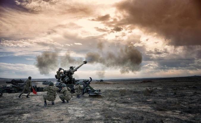 Ξεκίνησε η εισβολή στη Συρία: To πυροβολικό των Τούρκων βάλλει κατά Κούρδων