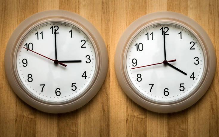 Χειμερινή ώρα 2019: Δείτε πότε γυρίζουμε τα ρολόγια μια ώρα πίσω
