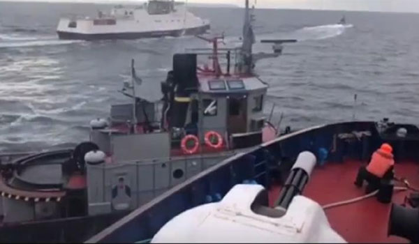 """""""Φωτιά"""" στη Μαύρη θάλασσα: Θερμό επεισόδιο Ρωσίας – Ουκρανίας"""