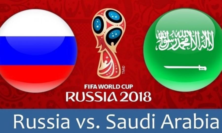 Παγκόσμιο Κύπελλο Ποδοσφαίρου 2018: Ρωσία - Σαουδική Αραβία 5 - 0 τελικό