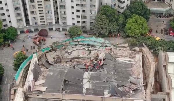 Επτά νεκροί από την κατάρρευση κτιρίου στη Σανγκάη