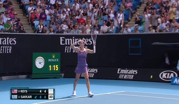 Θρίαμβος για τη Μαρία Σάκκαρη - Στους «16» του Australian Open