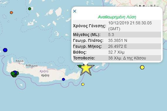 Σεισμός στην Κρήτη: Διχογνωμία επιστημόνων για την εξέλιξη του φαινομένου