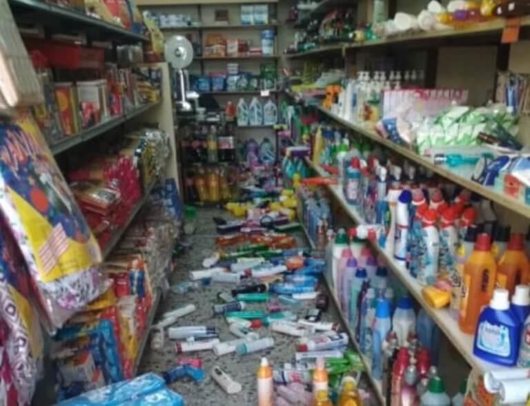 Σεισμοί στην Ηλεία: Η στιγμή που χτυπούν 4,4 Ρίχτερ.  Κλειστά σχολεία, ζημιές και εικόνες ανατριχιαστικές