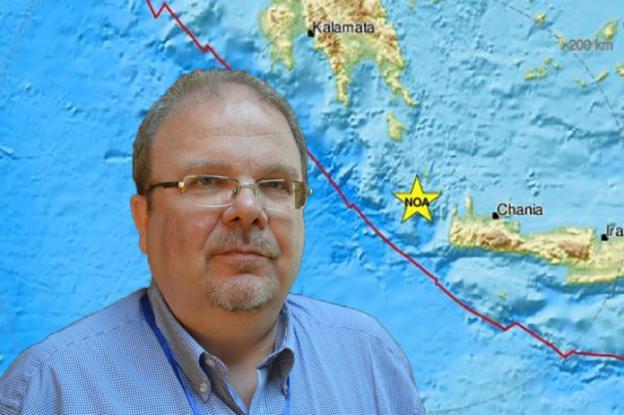 Σεισμός στην Κρήτη: «Μας έσωσε η θάλασσα», λέει ο σεισμολόγος Βαλλιανάτος