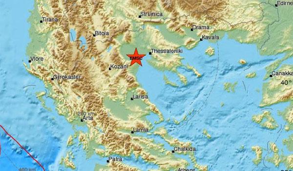 Σεισμός στο Αιγίνιο πρωί Δευτέρας. Αισθητός σε αρκετές περιοχές