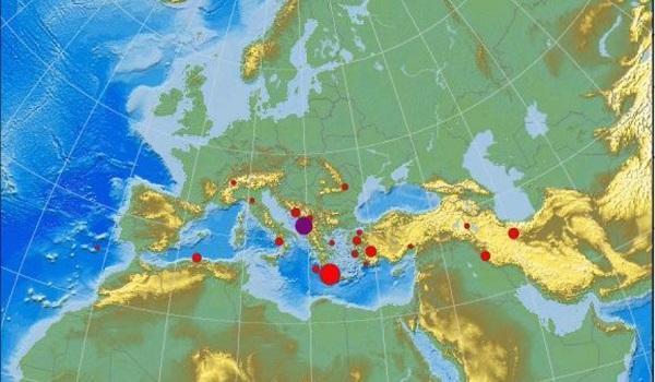 Σεισμός 5,3 Ρίχτερ στην Αδριατική θάλασσα