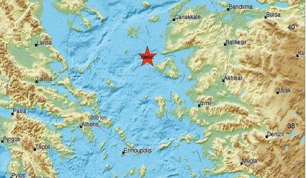 Σεισμός ταρακούνησε την Μυτιλήνη