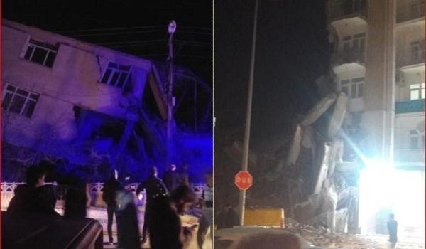 Ιράν: 25 τραυματίες έπειτα από τον σεισμό στα σύνορα με την Τουρκία