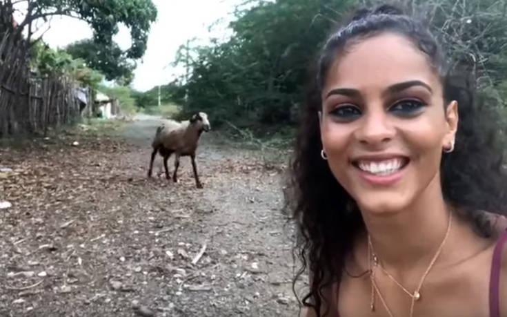 Ήθελε να βγάλει selfie με την κατσίκα αλλά δεν περίμενε αυτή την αντίδραση
