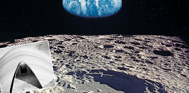 Έλληνας φοιτητής σχεδιάζει σπίτια στο φεγγάρι για διαστημικές αποστολές!