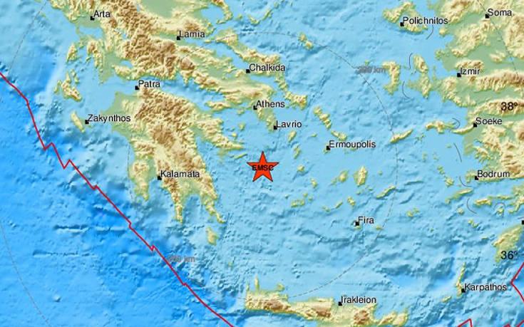 Σεισμός ανατολικά της Ύδρας. Ταρακουνήθαν τα νησιά του Σαρωνικού και η Αττική